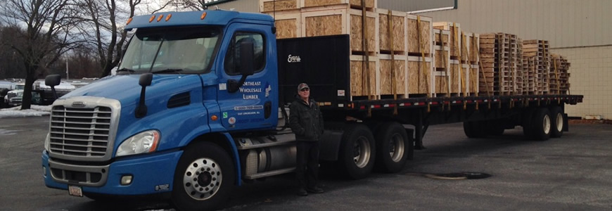 Northeast Wholesale Lumber - Pallets, Crates, Skids - Springfield Pallets, Western MA Pallets, New England Pallets